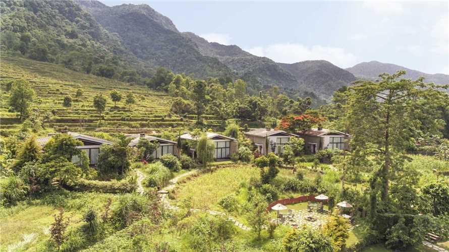 The Pavilions Himalayas Außenansicht