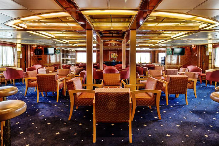 Poseidon Expeditions Sea Spirit Restaurant