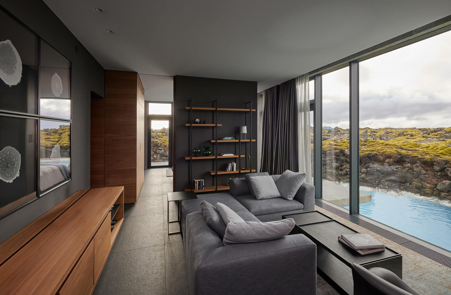 The Retreat at Blue Lagoon Iceland Zimmer