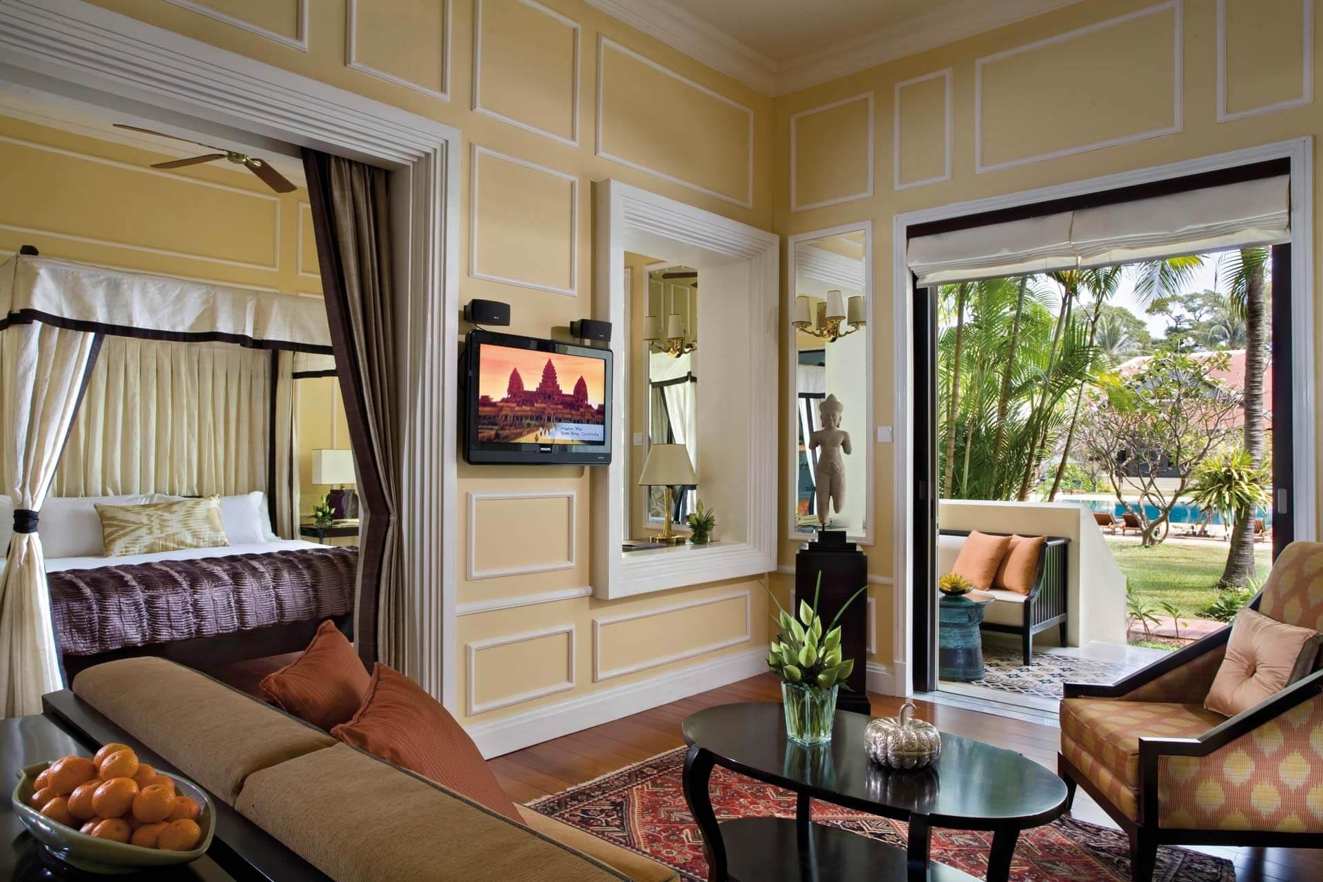 Raffles Grand Hotel dAngkor Cabana Suite