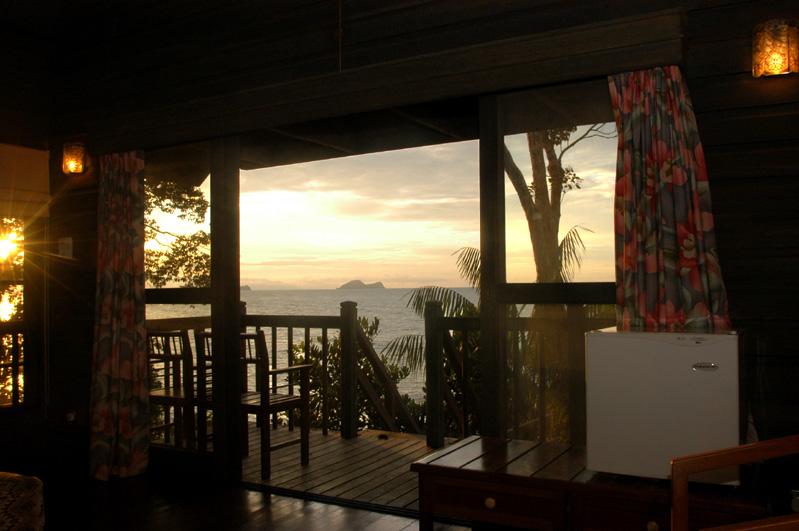 Permai Rainforest Resort Aussicht