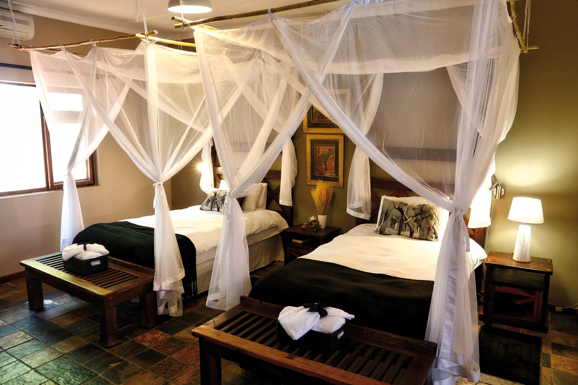Twyfelfontein Country Lodge Twin Room