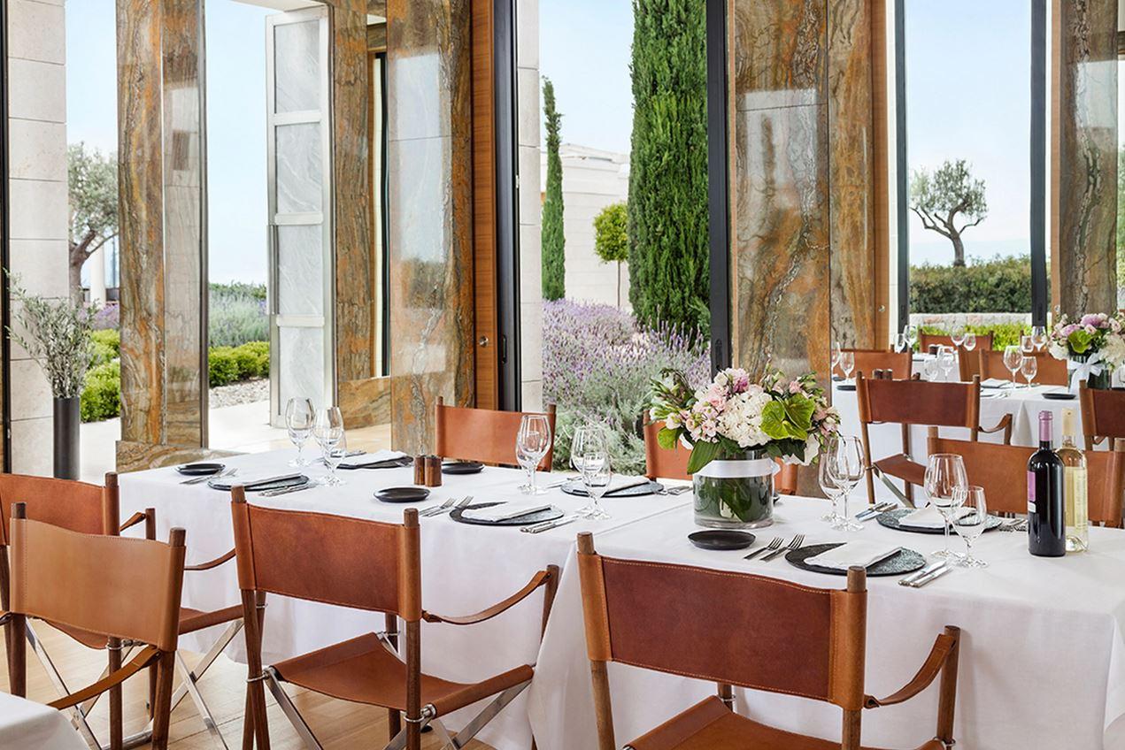Amanzoe Resort Restaurant