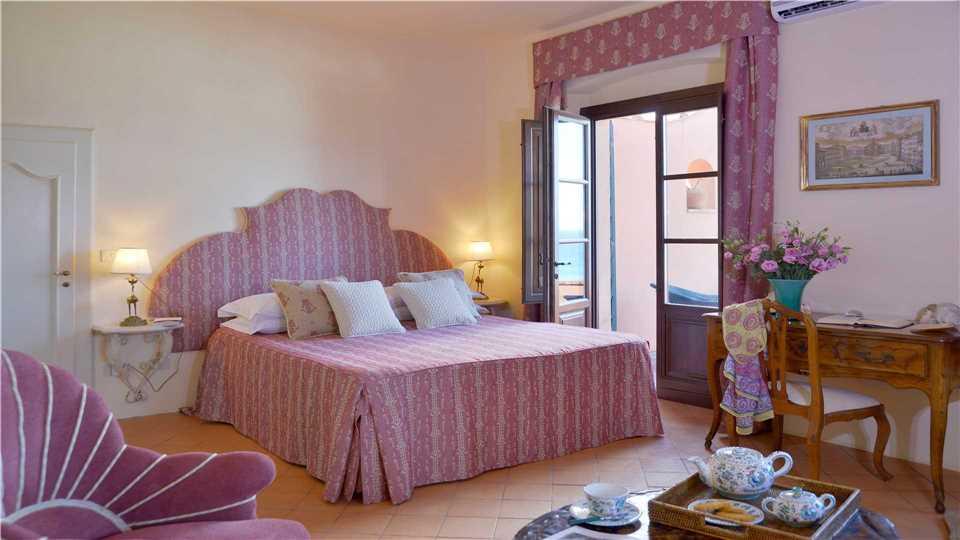 Villa Campolecciano Schlafzimmer - Toskana