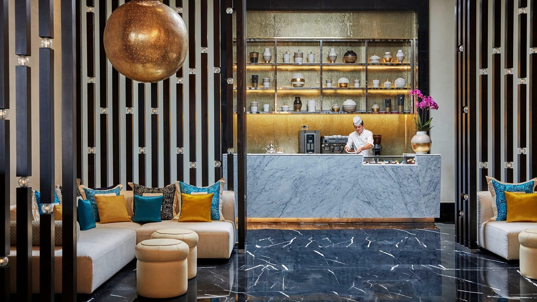 Four Seasons Hotel Casablanca Empfangsbereich