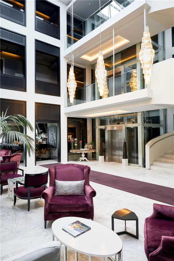 Queen Victoria Hotel Atrium