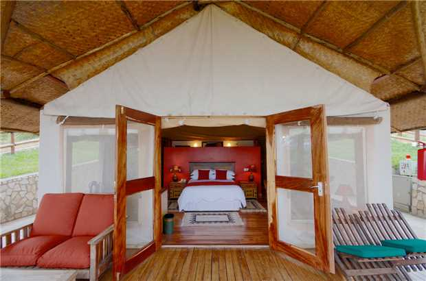 Mweya Safari Lodge Standard Room