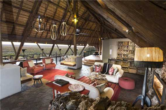 Ongava Lodge Lounge