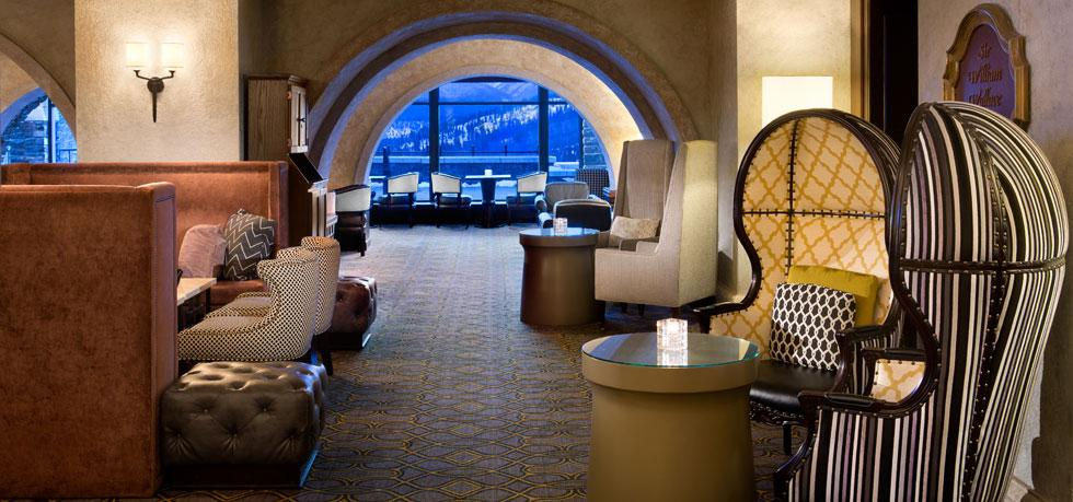 The Fairmont Banff Springs Lounge