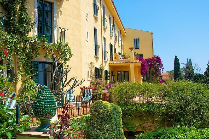 Hotel Villa Belvedere in Taormina Außenansicht
