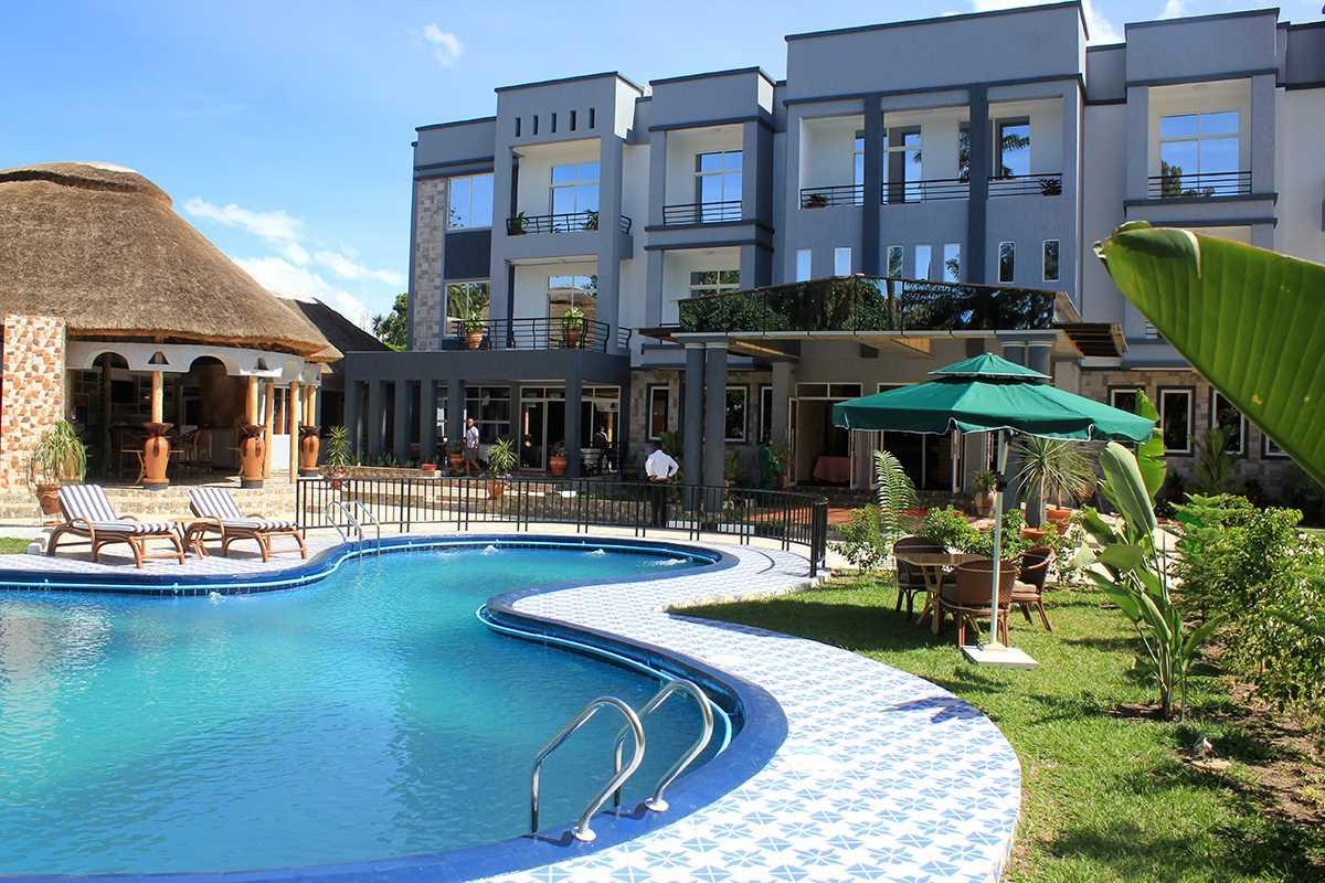 Hill View Lake Kivu Pool