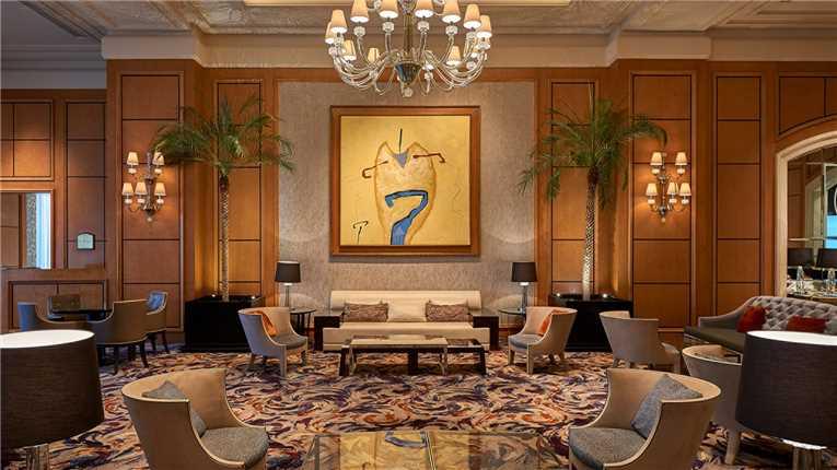 Four Seasons Hotel Cairo at Nile Plaza Lobby