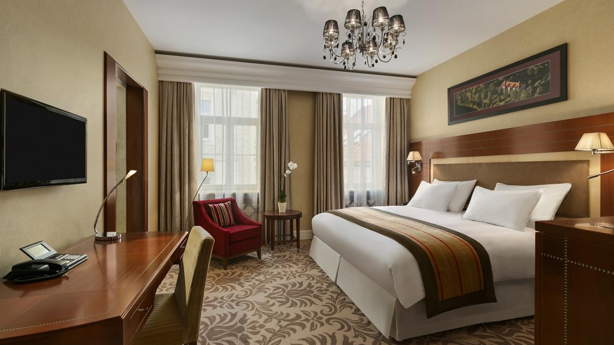 Grand Hotel Kempinski Vilnius Standard Doppelzimmer
