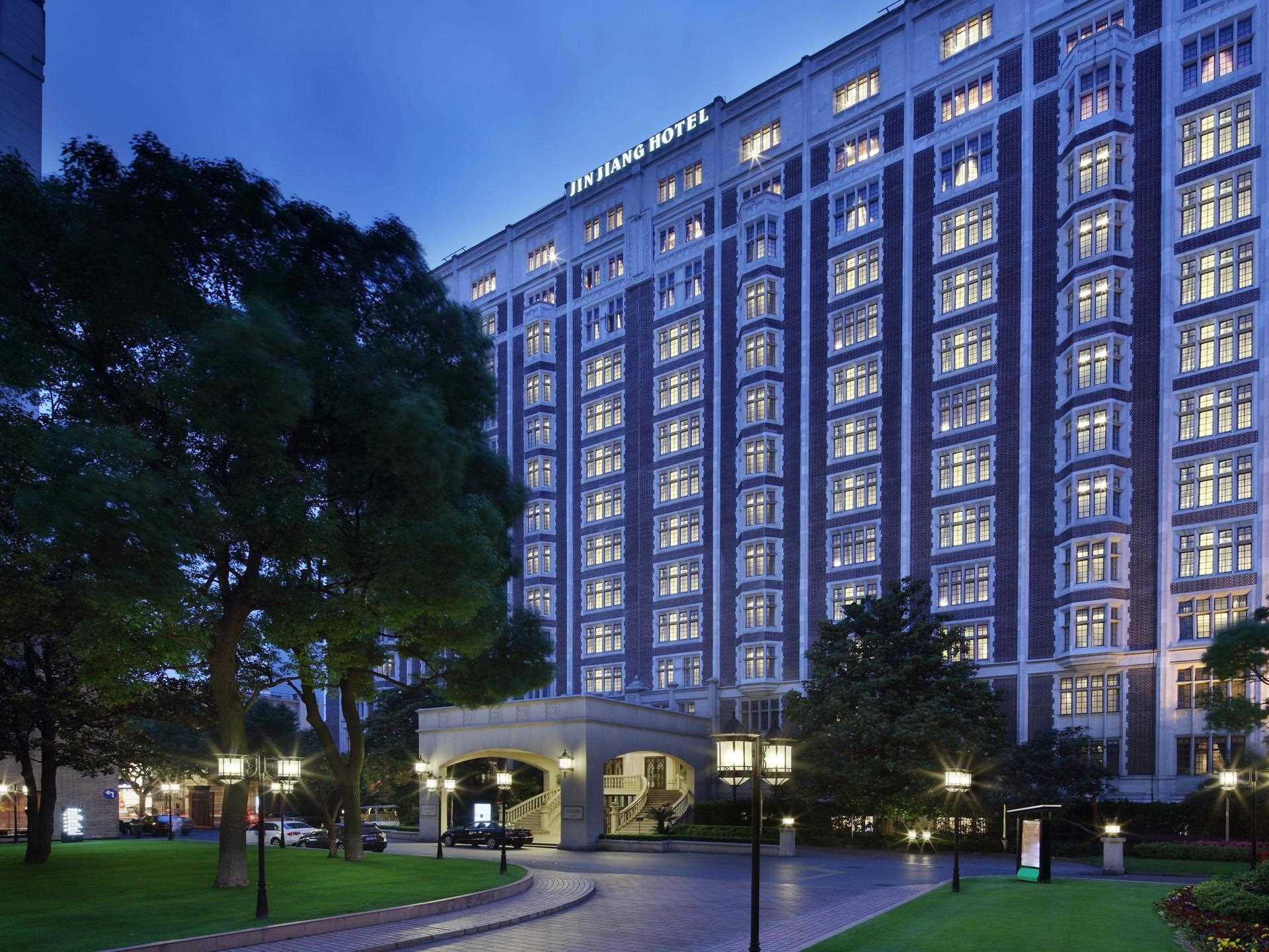 Jin Jiang Hotel Shanghai Außenansicht