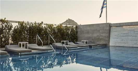 Pool Hotel Electra Metropolis Athen