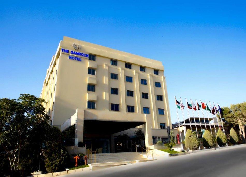 The Sanrock Hotel in Amman Aussenansicht