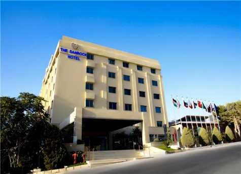 The Sanrock Hotel in Amman Aussenansicht