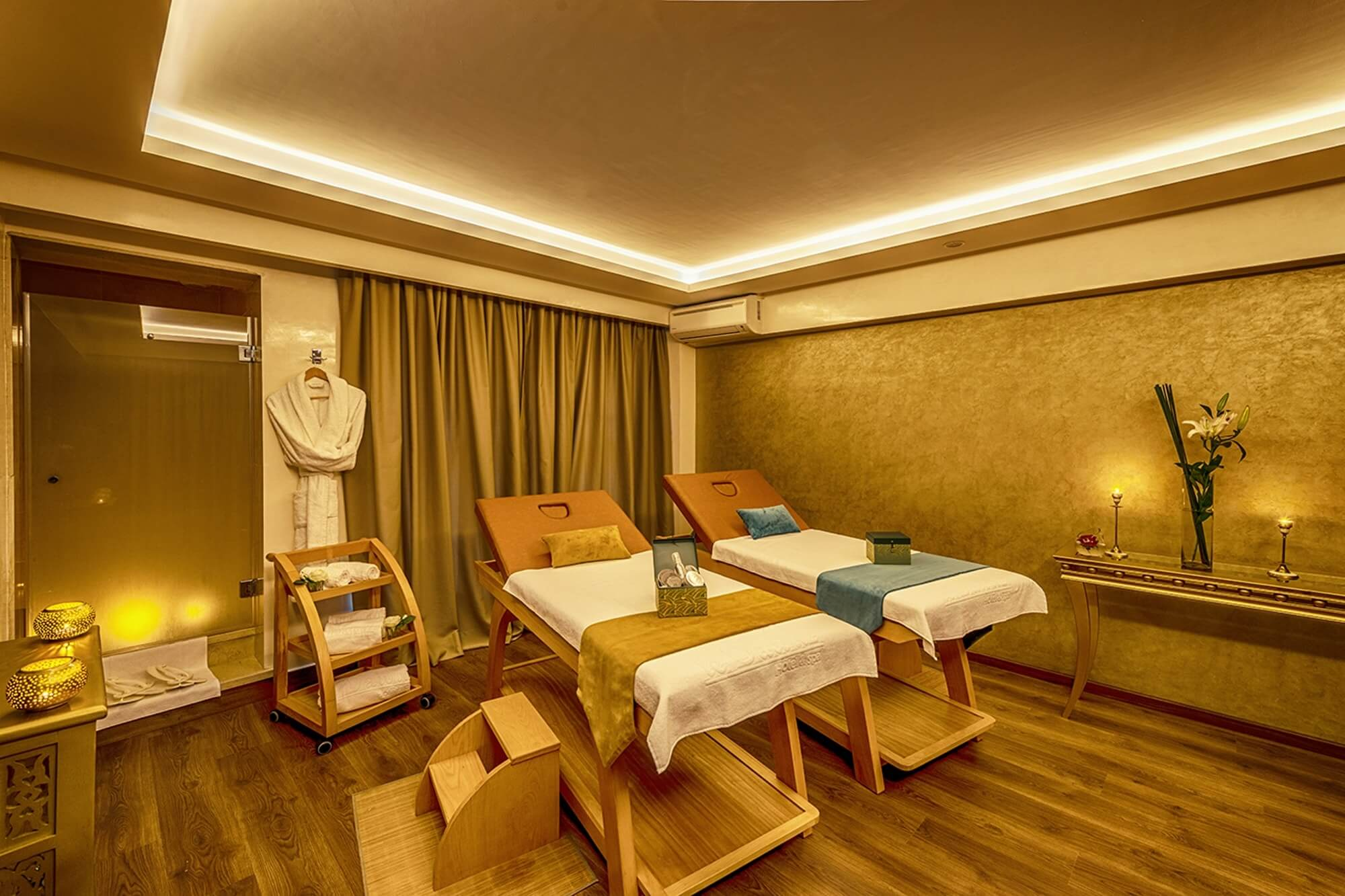 Dawliz Resort & Spa Wellnessbereich