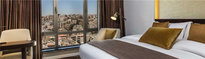 Mövenpick Hotel Amman Zimmerblick