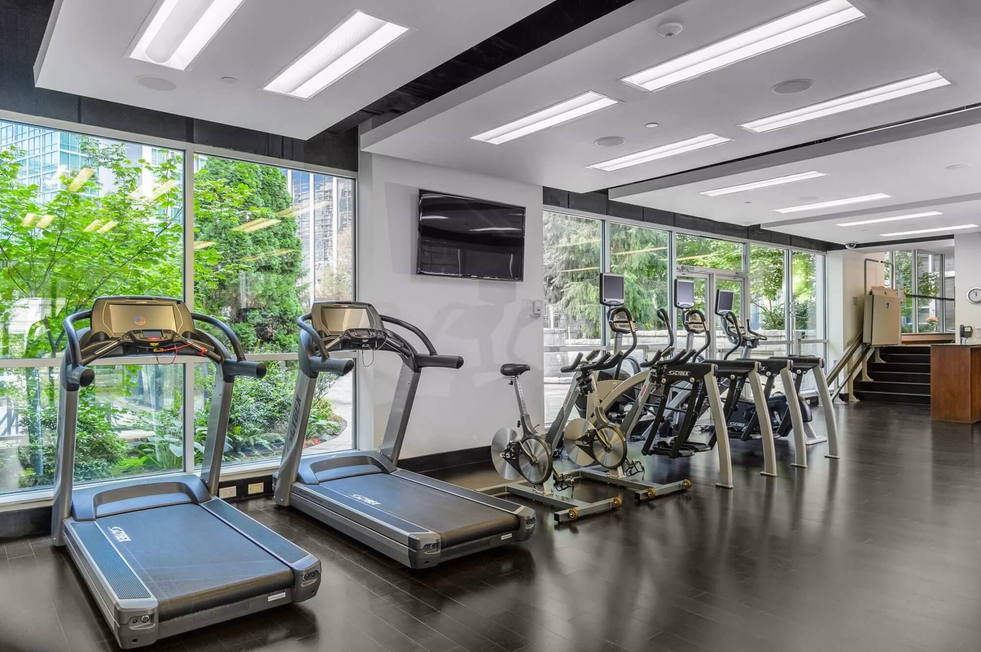Loden Hotel Fitnessbereich
