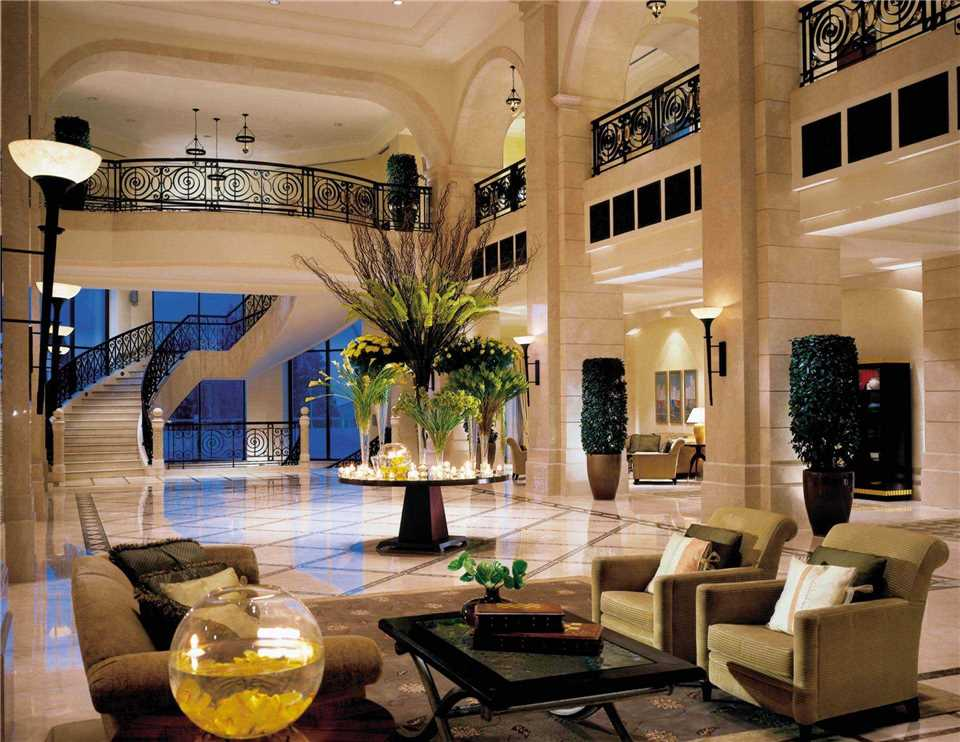 Four Seasons Hotel Amman Lobby