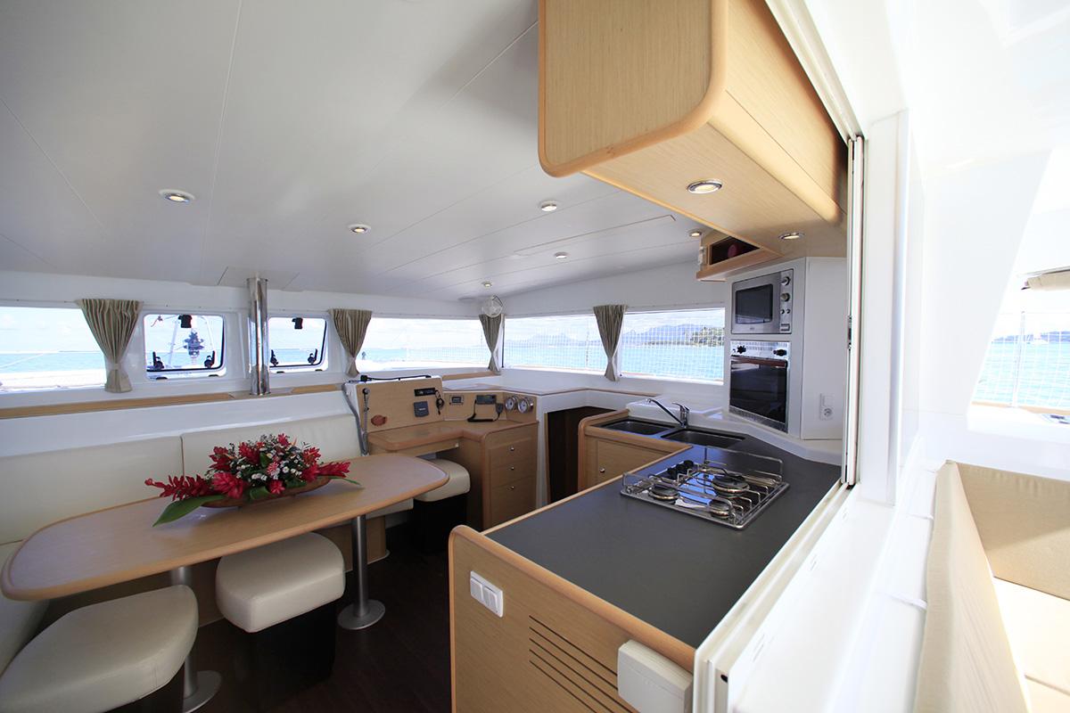 Iti Iti Classic Private Cruise Küche