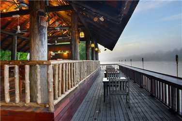 Sukau Rainforest Lodge Restaurant