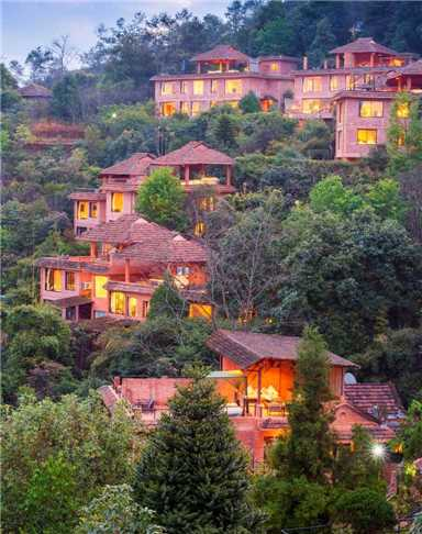 The Dwarikas Resort Dhulikhel Außenansicht
