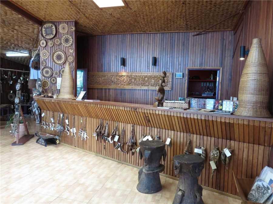 Rondon Ridge Lodge Empfangsbereich