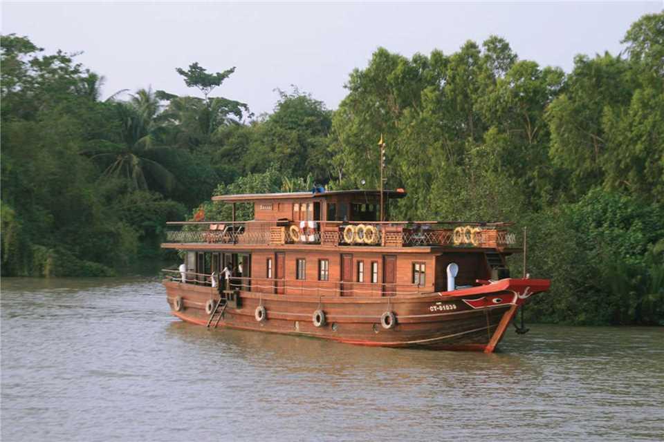 Bassac Cruise Schiffansicht