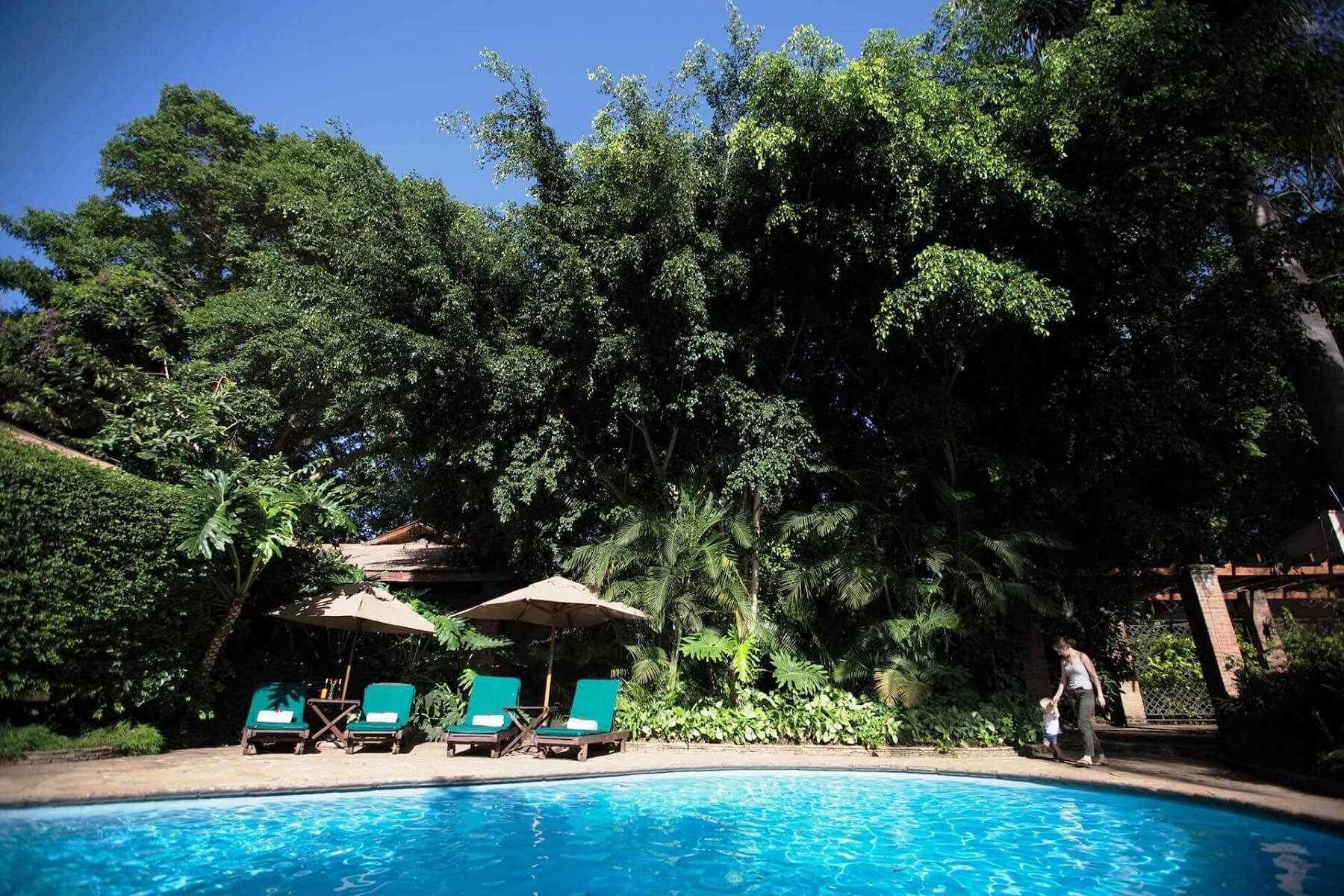 Arusha Coffee Lodge by Elewana Pool