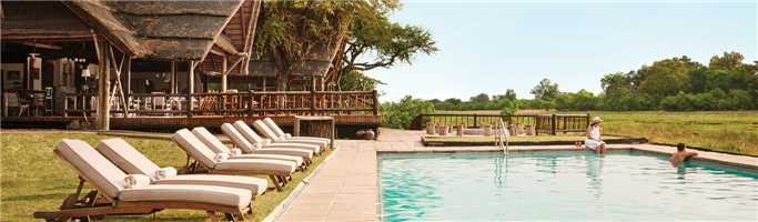 Belmond Eagle Island Camp Pool