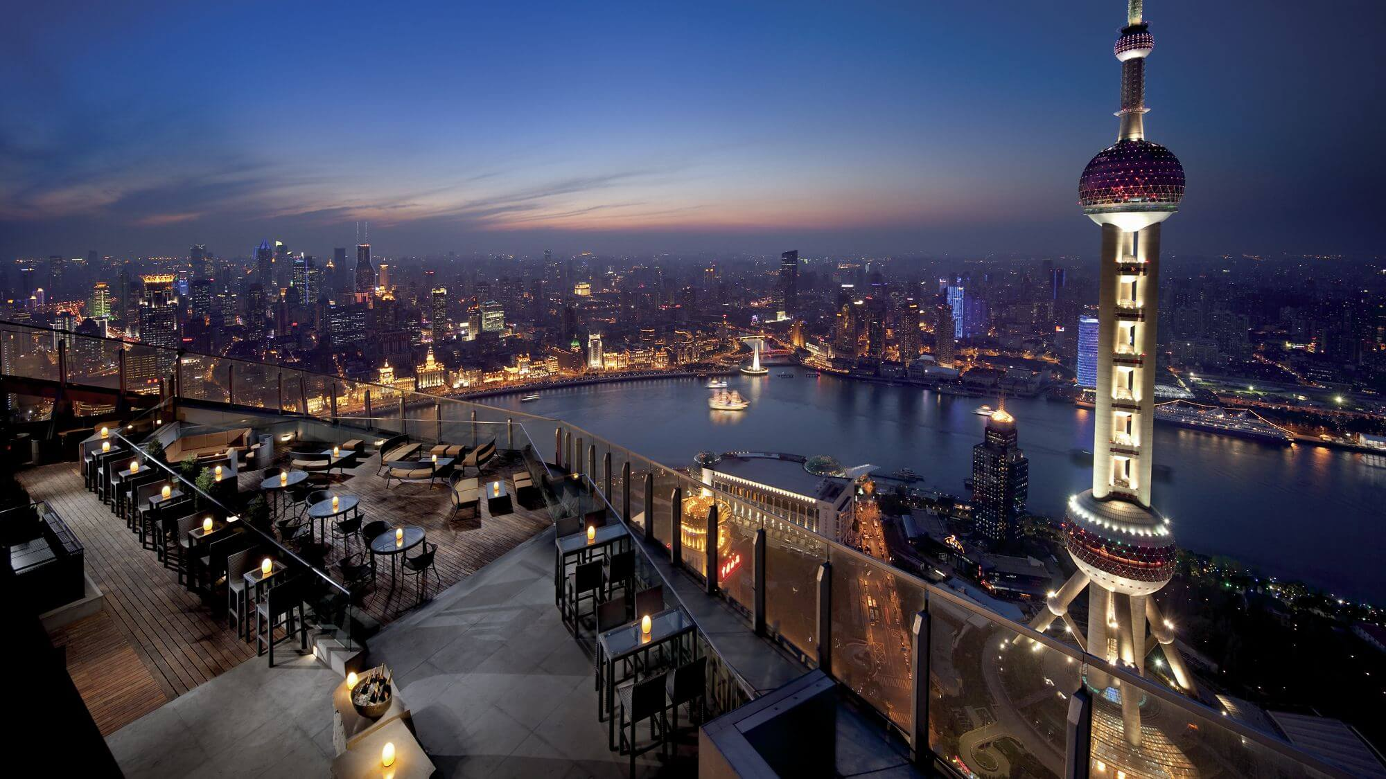 The Ritz-Carlton Shanghai Pudong Terrasse