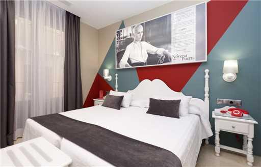 Spanien, Toledo - Doppelzimmer Hotel Carlos V Toledo
