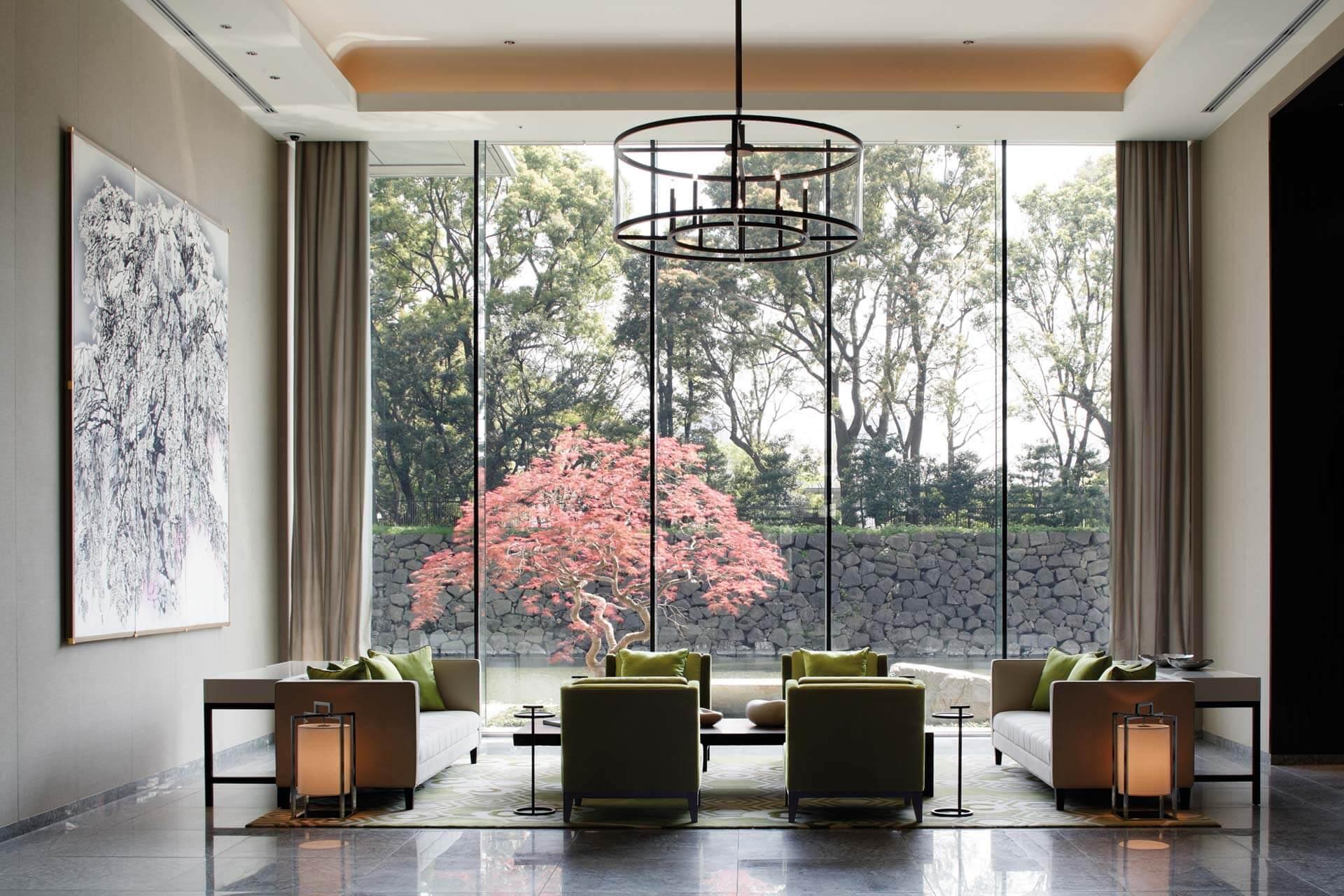 Palace Hotel Tokyo Lobby