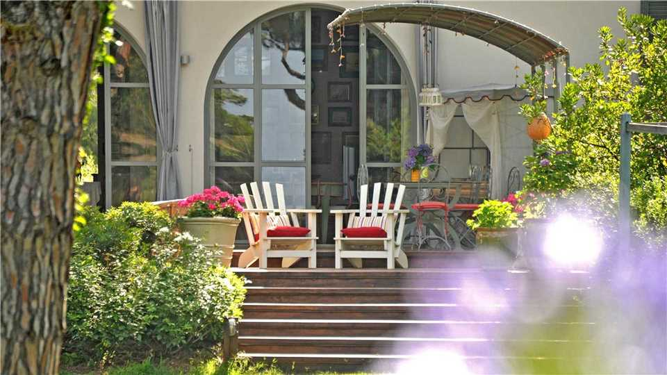 Villa Tombolino Terrasse