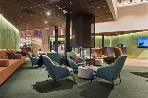 Radisson Blu Polar Hotel Spitsbergen Lobby