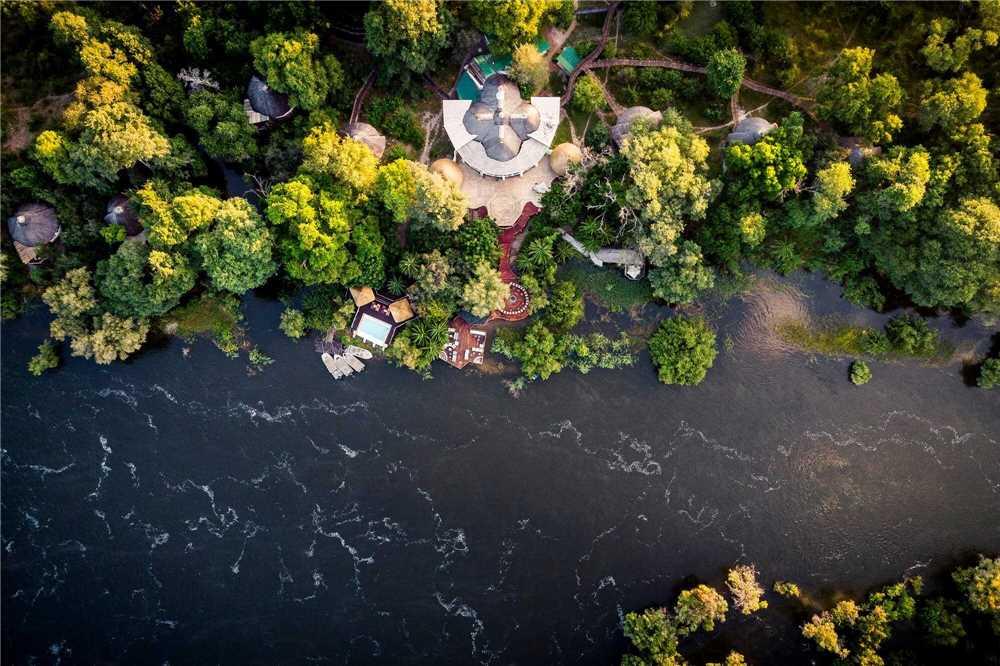 Sanctuary Sussi & Chuma Luftaufnahme