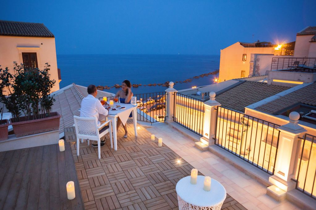 Algilà Ortigia Charme Hotel Terrasse
