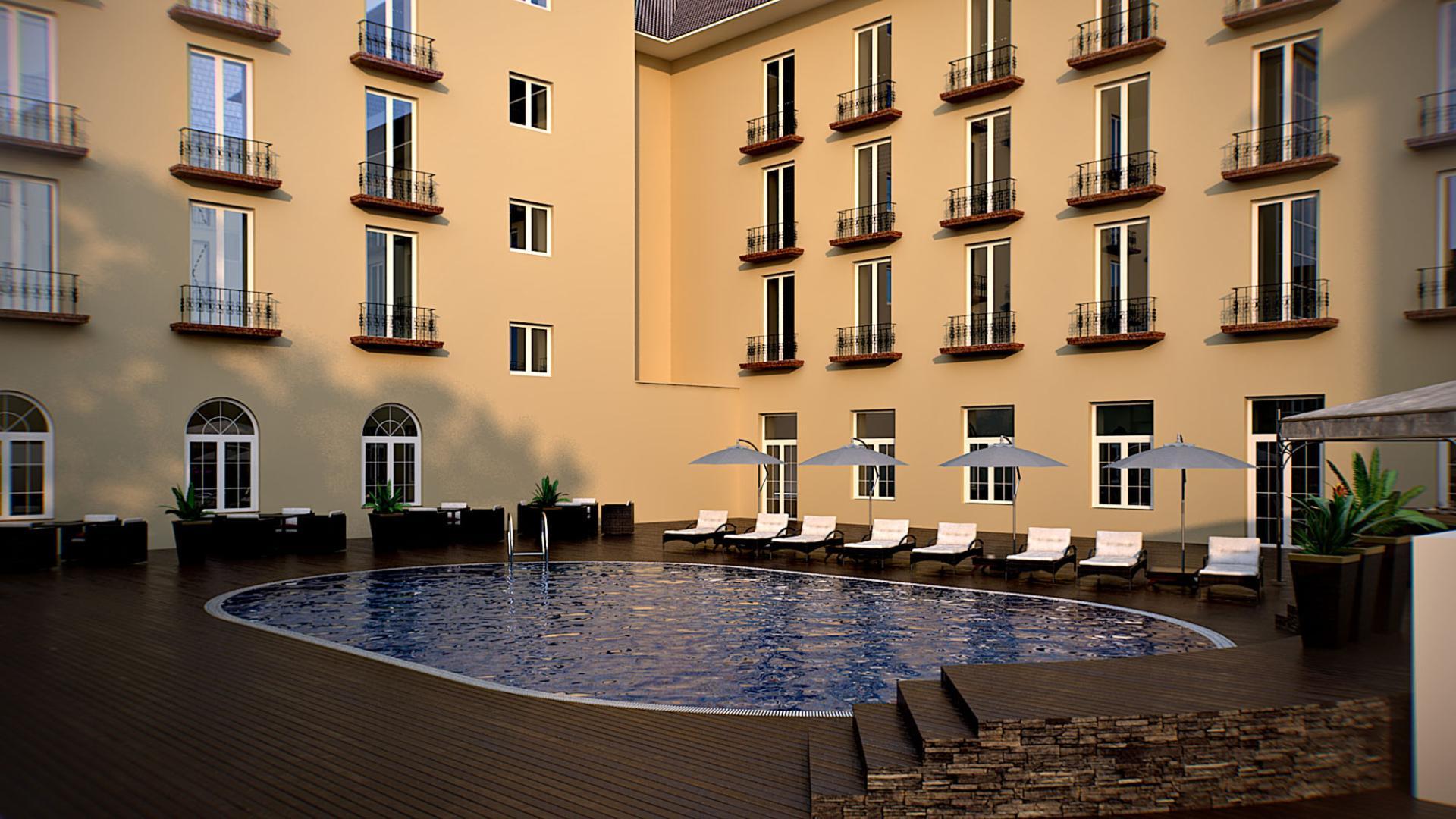 Lotte City Tashkent Palace Pool