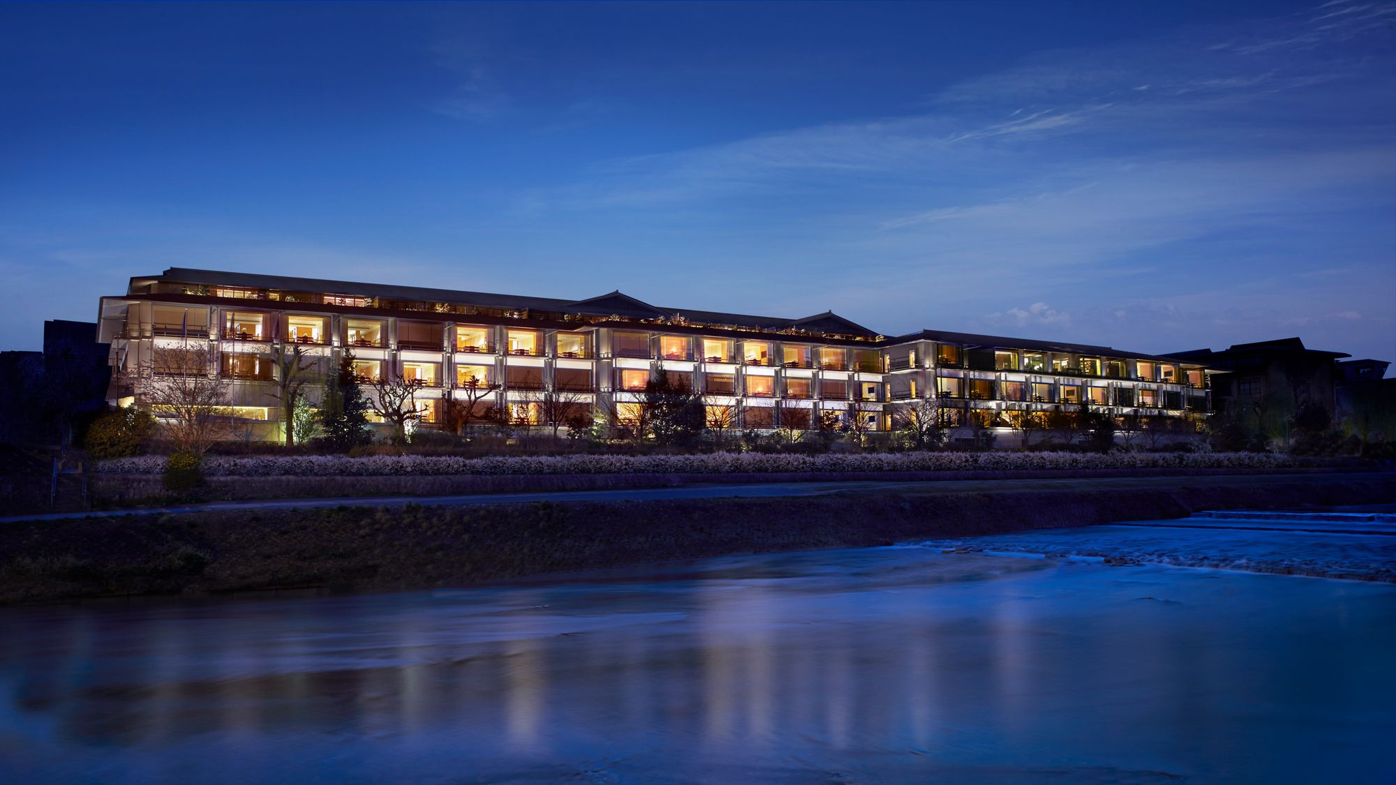 The Ritz-Carlton Kyoto Außenansicht