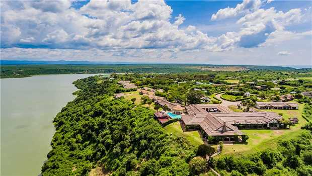 Mweya Safari Lodge Panoramablick