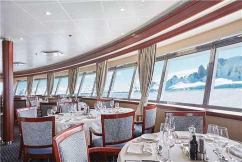 Silverseas Cruises Silver Explorer Restaurant
