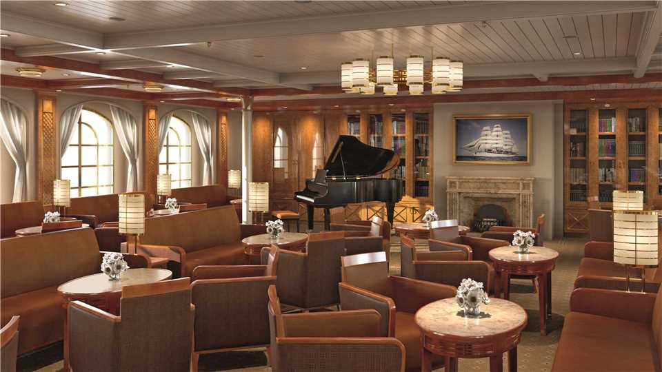 Sea Cloud Spirit Lounge