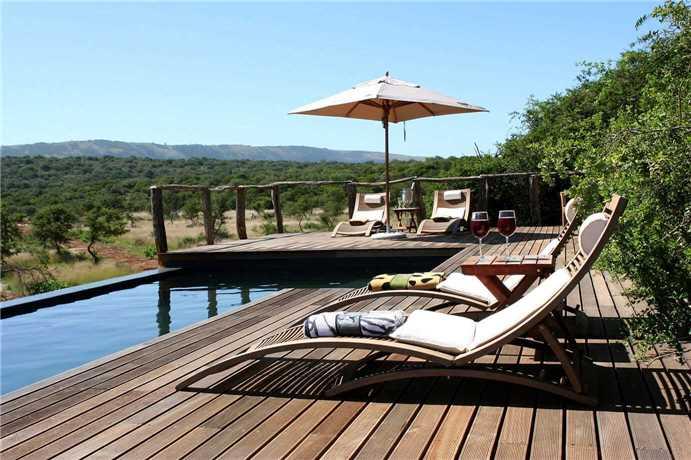 Msenge Bush Lodge Pool