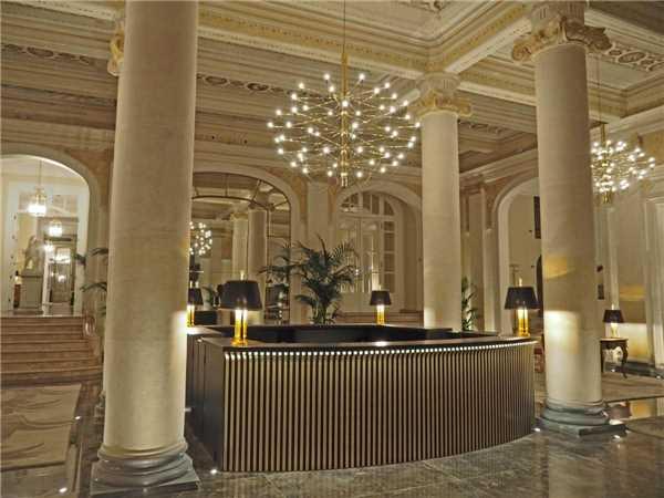 Grand Hotel et des Palmes Rezeption