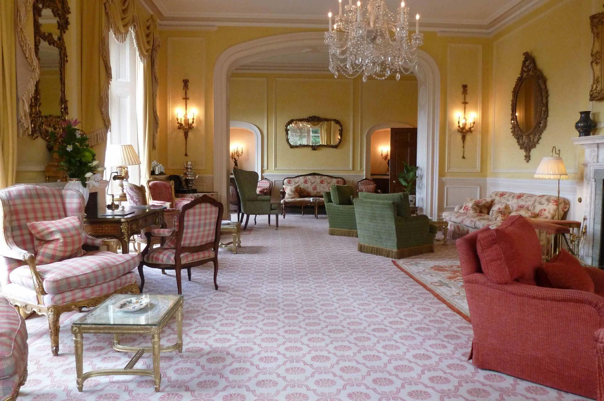 Inverlochy Castle Hotel Lounge