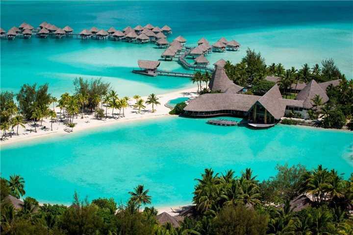 Le Méridien Bora Bora Panoramablick