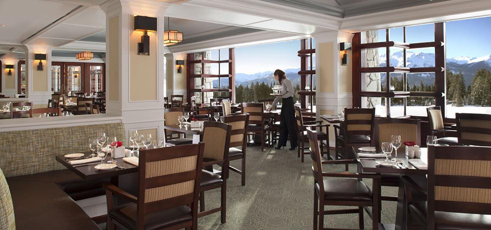 The Fairmont Jasper Park Lodge Restaurant