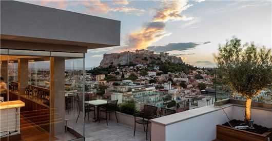 Restaurant Hotel Electra Metropolis Athen